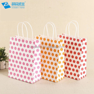 Different Types New Design Fashional Birthday White Bulk Gift Bags