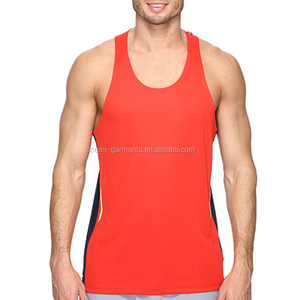 Active fitness tank top mens bodybuilding sports gym wear