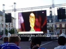 Fast Installation P10 Outdoor Rental LED Screen