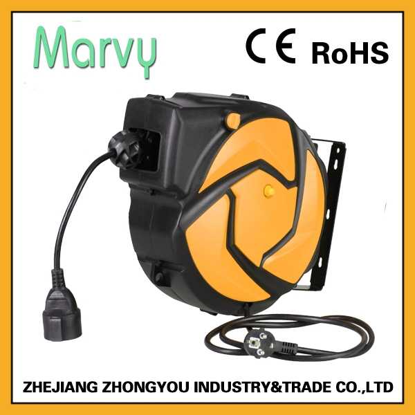 2015 the most popular auto cable hose reel 10m 3G2.5mm2 with low price