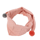 Triangle Scarf Pattern Scarf Cheap Fashion Baby Scarves Triangle Ball Children Scarf