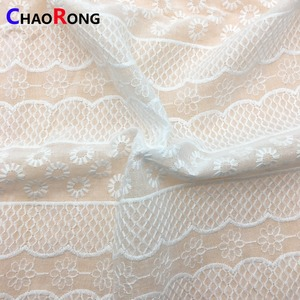 CRF0460 african cheap textile lace fabric