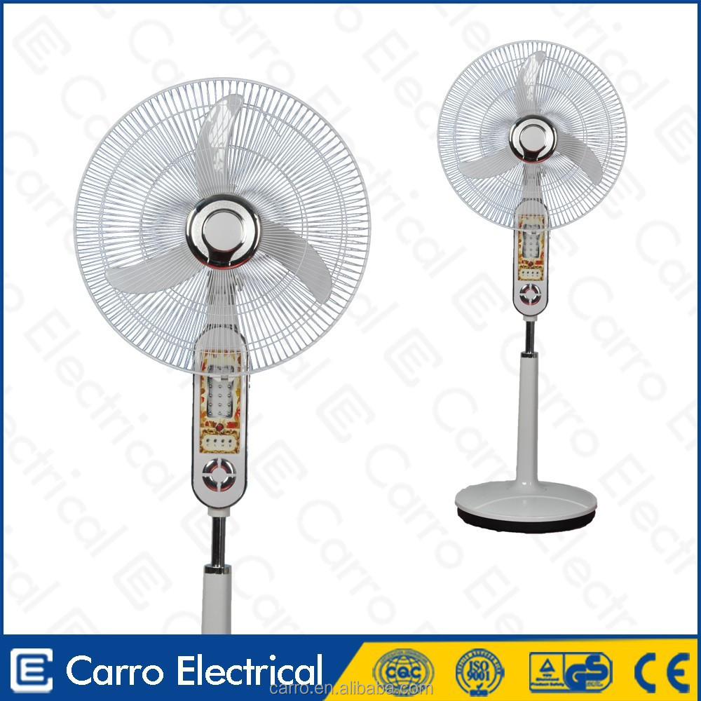 "China Manufacturer 16"" 12v Electric Cooling Rechargeable Stand ..."