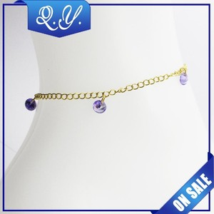 New Design Lovely Adjustable Handmade Anklets with High Quality New gold Anklet jewellery
