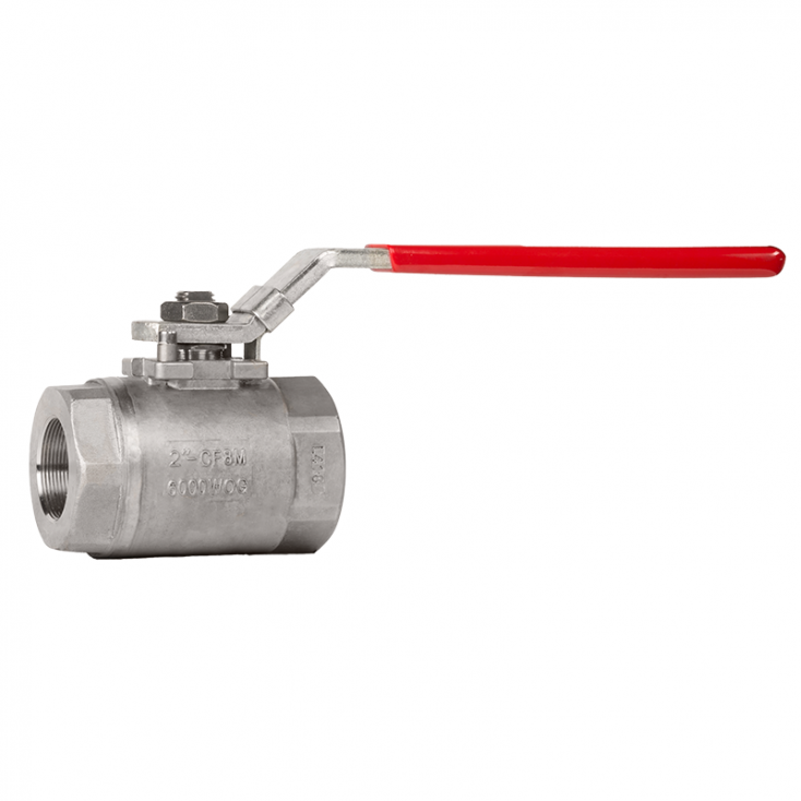 SS316 2 PC SEAL WELDED BALL VALVE