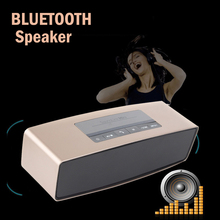 Free Shipping bluetooth speaker stereo Portable wireless subwoofer loudspeakers altavoz mini music speakers box of sound boombox