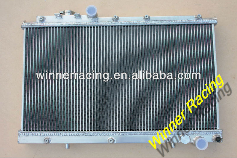 DUAL CORE ALUMINUM ALLOY RADIATOR FOR TOYOTA CELICA GT-4/GT-FOUR/GT4 ST205 3S-GTE ALL-TRAC 1994-1999