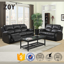 Down leather sofa american style wholesale Zoy-93930