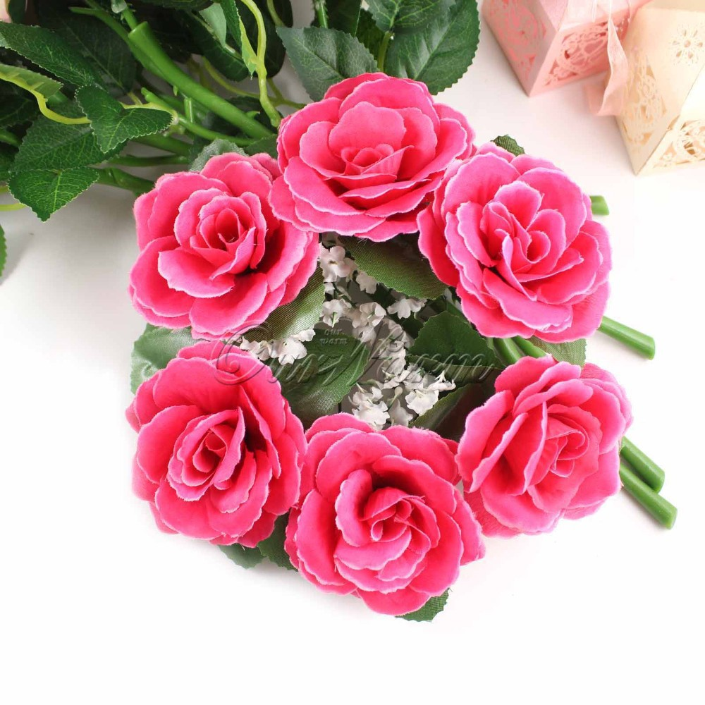 Candle Flower Centerpieces Wedding: 2019 Wholesale Large Floral Candle Rings Wedding