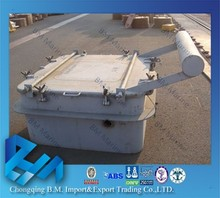 marine equipments steel/aluminum marine watertight hatch cover