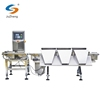 High accuracy dynamic three weight zones digital LCD conveyor belt check weigher