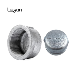 socket weld end cap 1/2 inch carbon steel pipe fitting threaded pipe galvanized pipe end cap
