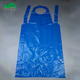 plastic hdpe apron white blue Disposable aprons roll