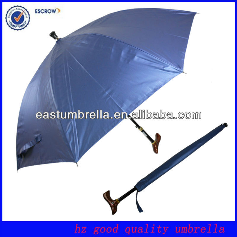 23 Inch Promotional Special Handle Cane Umbrellas For Old Person ...
