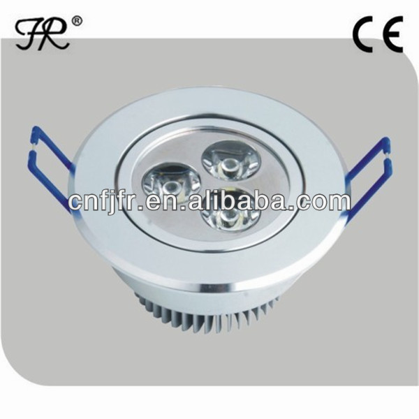 Cheap 3W aluminum surface mounted led round ceiling light