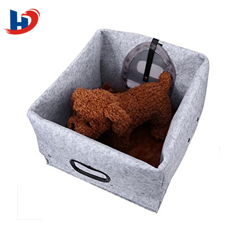 Hot selling handmade factory outlet soft dog/cat felt  house pet