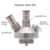 High Quality Ball Lock Double Connector Dispenser For Beer Keg