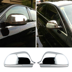Best Selling Auto Accessories Chrome Exterior Decoration Guard Side Car Mirror Cover for Audi A5 A3 A4b8 A6c6 A8 2008 +