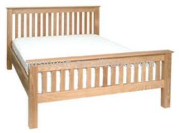 Wooden Bed Frame Solid Oak Wood Design Furniture