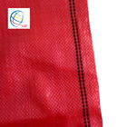 Red Virgin Material Polypropylene Woven Sack for Onion Bags
