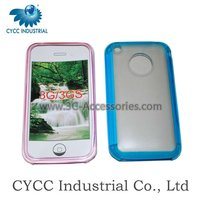 3G/3GS Cell Phone Silicon Case for iPhone