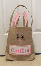 Wholesale monogrammed bunny ear easter basket