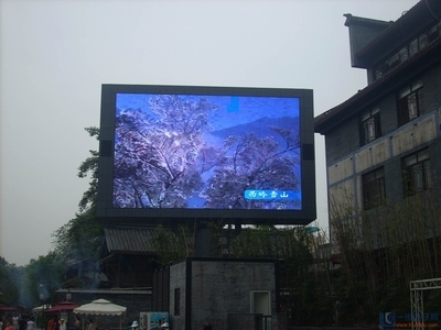 Full color HD perfect showing effect P4 outdoor P4 digital signage advertising player poster led display interactive touch scree