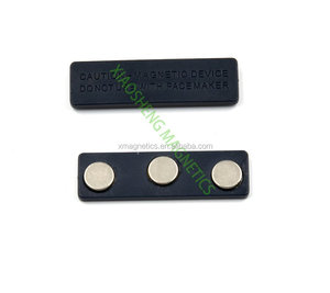 Best Price Magnetic Name Badge With 3 Dot Magnets With 3M Adhesive