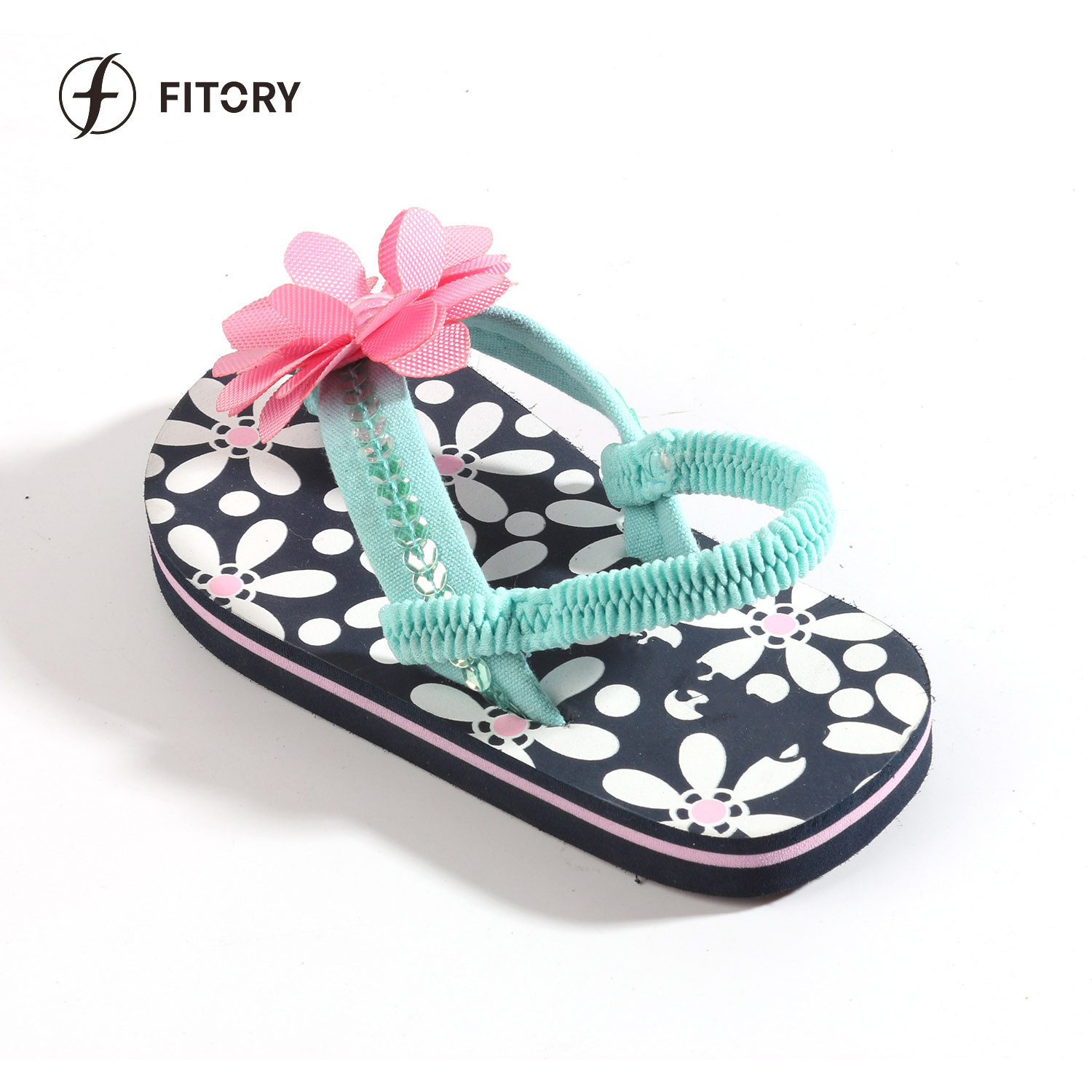 fff7428d2904 Wholesale EVA Sole Kid Summer Slipper Children Flat Thong Sandal Girl Beach  Flip Flops