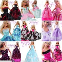 15 items 5 dresses 10 pcs accessories Top Quality Party Gown Clothing Skirt Outfit Clothes For