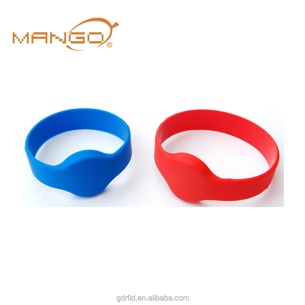 Clever 13.56mhz Mf Classic 1k S50 F08 Nfc Tags Iso14443a Silicone Nfc Wristband Bracelet For Swimming Pool Sauna Room Gym Durable In Use Access Control Cards Access Control