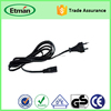 Korea standard power cord plug 3 pin ac extension cable /extension lead