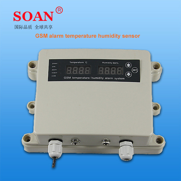 2014 newest hot sale 220v wireless GSM control humidistat thermostat controller high accuracy