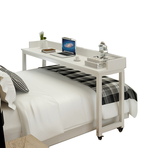 Long Size White Laptop Table for Bed 3011