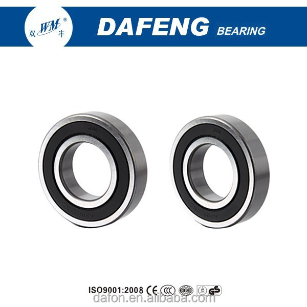 Top Quality Deep Groove Ball Bearings 6204 zz/rs 20x47x14mm