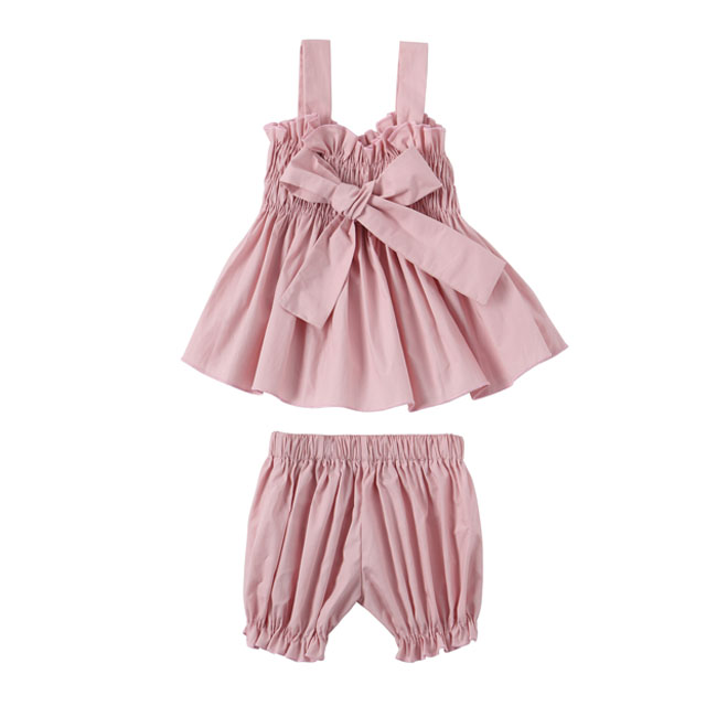 Fashion style design Girls Summer Boutique Outfit Baby Clothes set