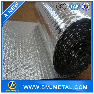 Heat Reflective Bubble Insulation Foil Material for Building