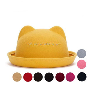 Yellow Bowler Hat 3294f46bfa8