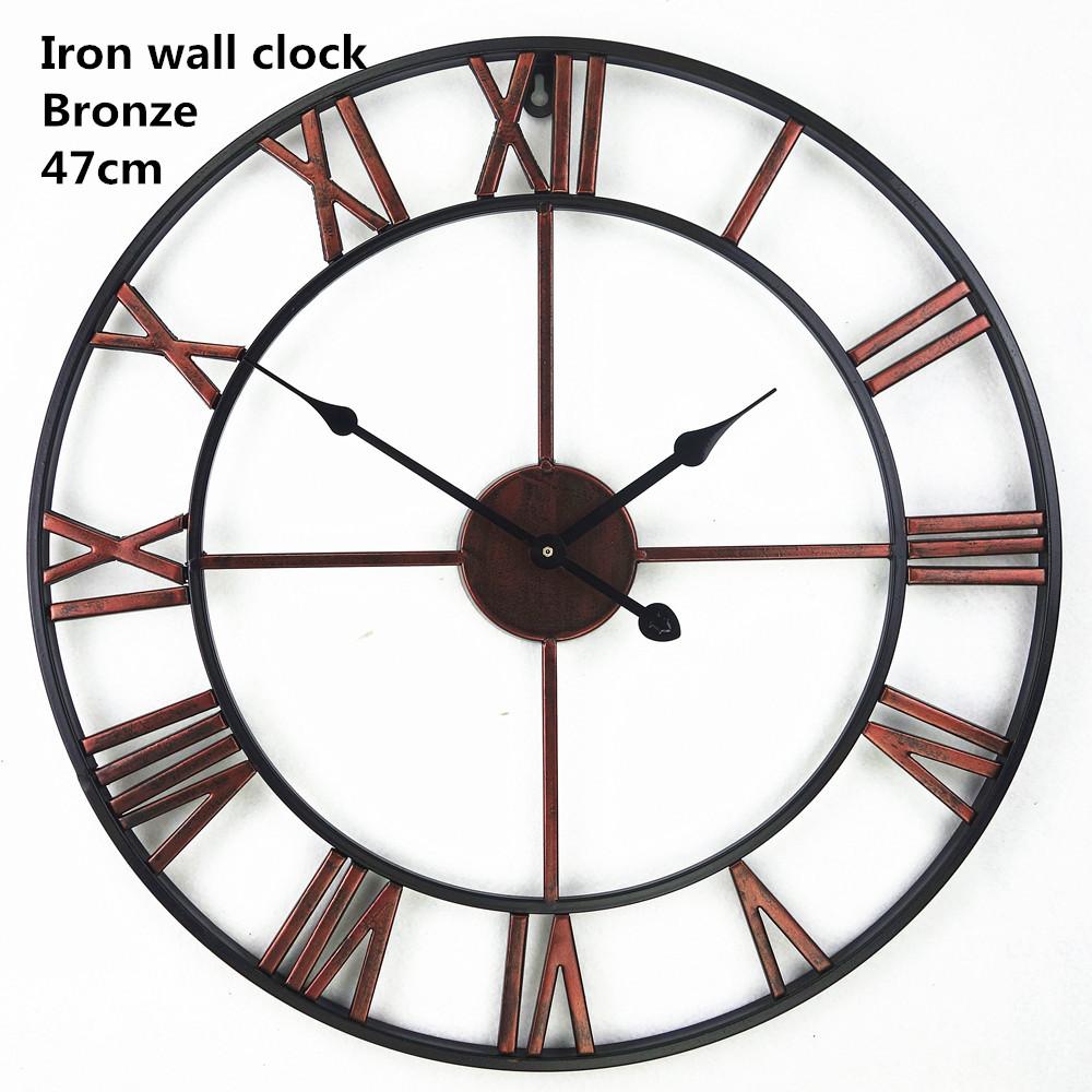 Handmade Oversized 3d Retro Roman Wrought Iron Vintage