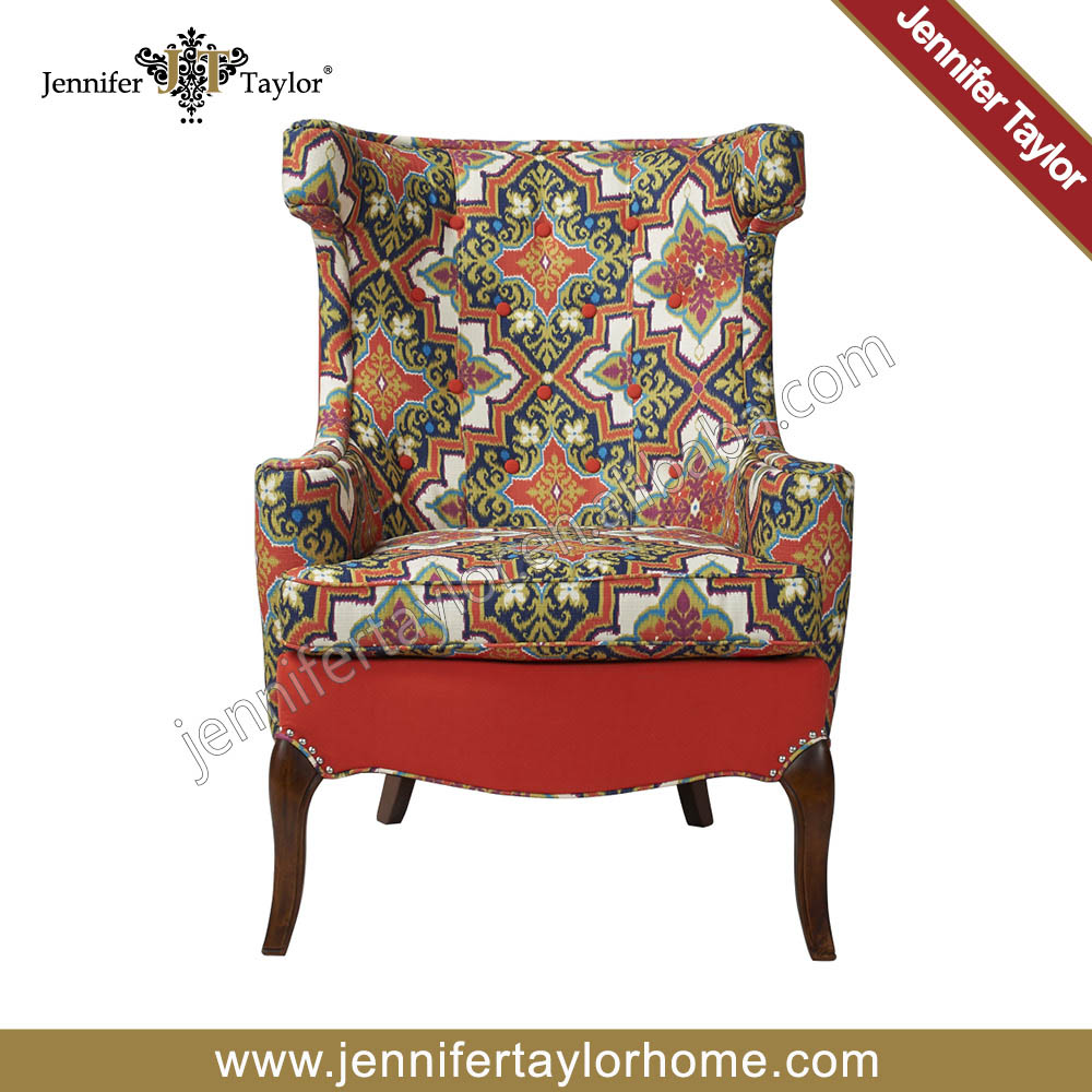 Fancy Sofa Furniture Comfortable Single Seater Colorful Chair Colourful Bedroom Chairs Product On