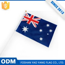 Hot Sale Excellent Quality Flag And Plastic Hand Flag Sticks