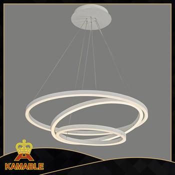 Modern Hanging Circle Led Pendant Light