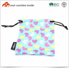 2017 New Style Cute Microfiber Pouches for Jewellery