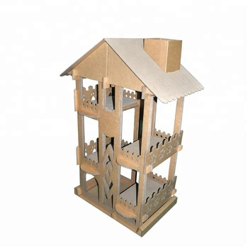 W-B005 Cardboard cat house/Wholesale Cat Tree Scratching Post