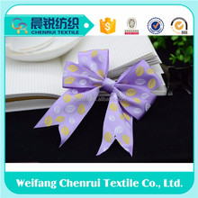 handcraft satin ribbon bow tie for garments of any size