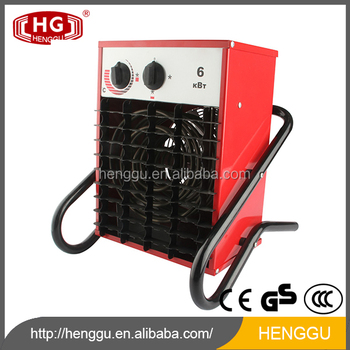 Hg 6000w Poultry Farm Heaters Rechargeable Electric Room