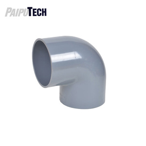 Plastic Pipe PVC UPVC Fitting 90 Degree Elbow for Water Supply