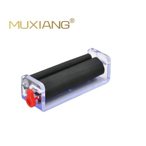 muxiang - Factory direct durable transparent herb weed tobacco 70mm cigarette rolling machine