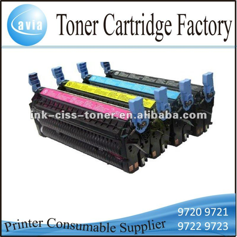 Color Toner Cartrdge C9720A C9721A C9722A C9723A for hp 4600 4610 4650