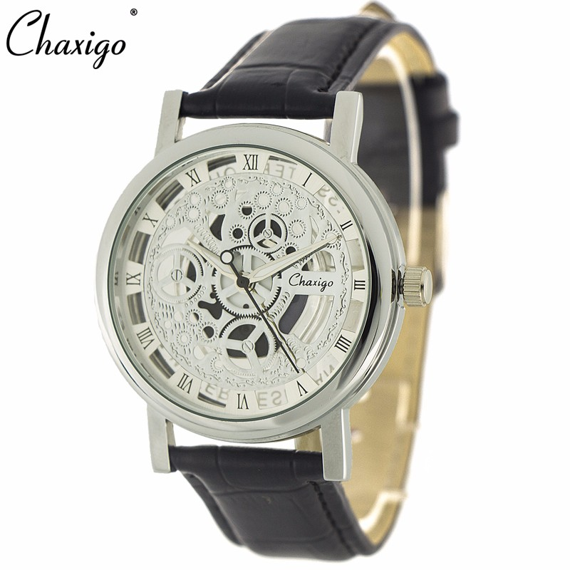 Hot Selling Guangzhou 35mm Dial Depth 3A Water Resistance Fashion Cool Hollow Watches Free Watches Online